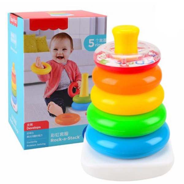 Rock a Stack Ring Tower for Infants