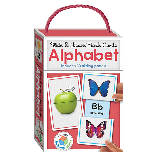 Slide and Learn Flash Cards Alphabets