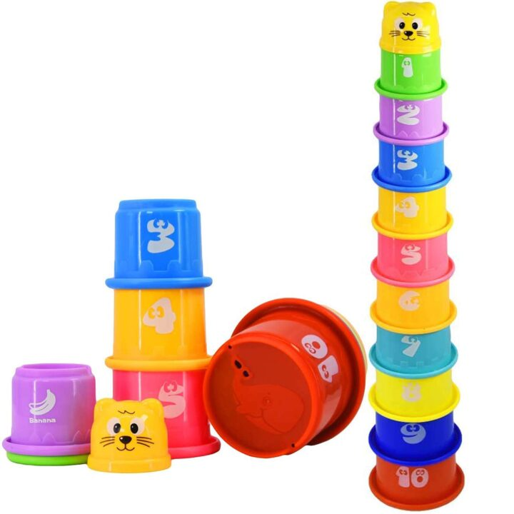 Stacking Cups for Toddlers