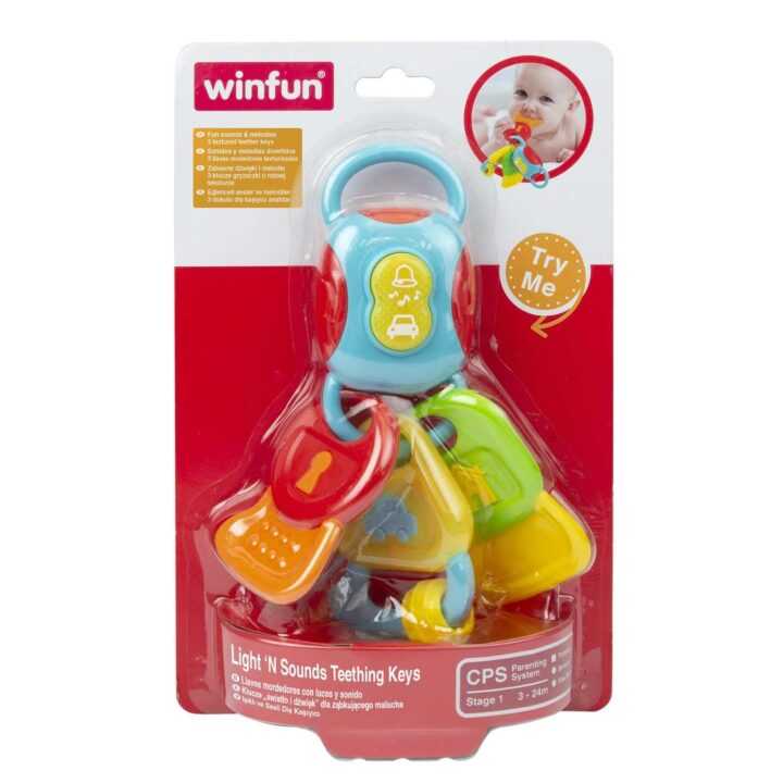 WinFun Light 'N Sounds Teething Keys