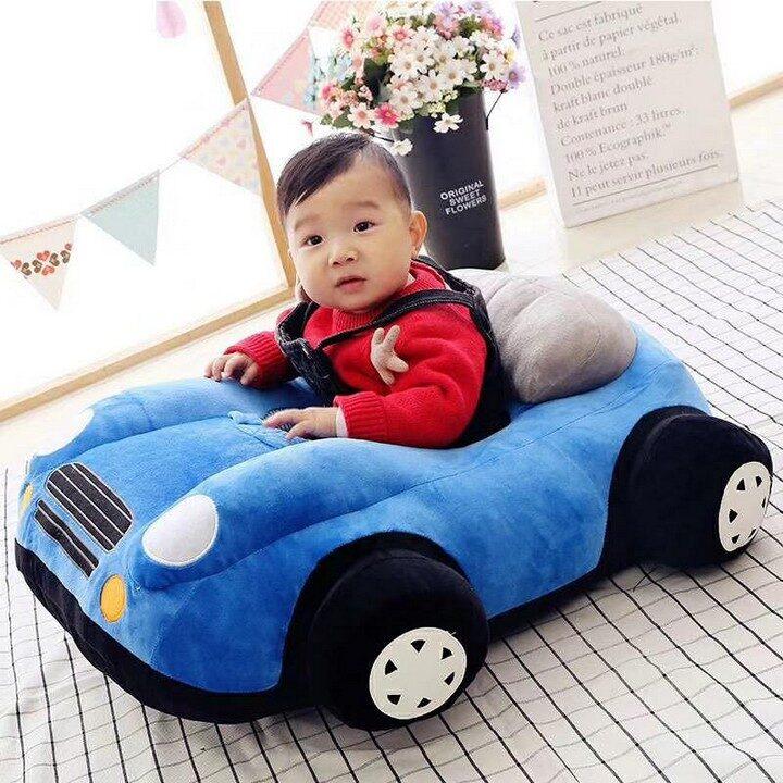 Baby Sofa Car Seat - Blue
