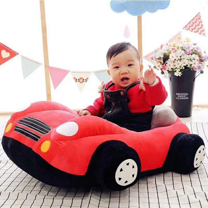 Baby Sofa Car Sear - Red