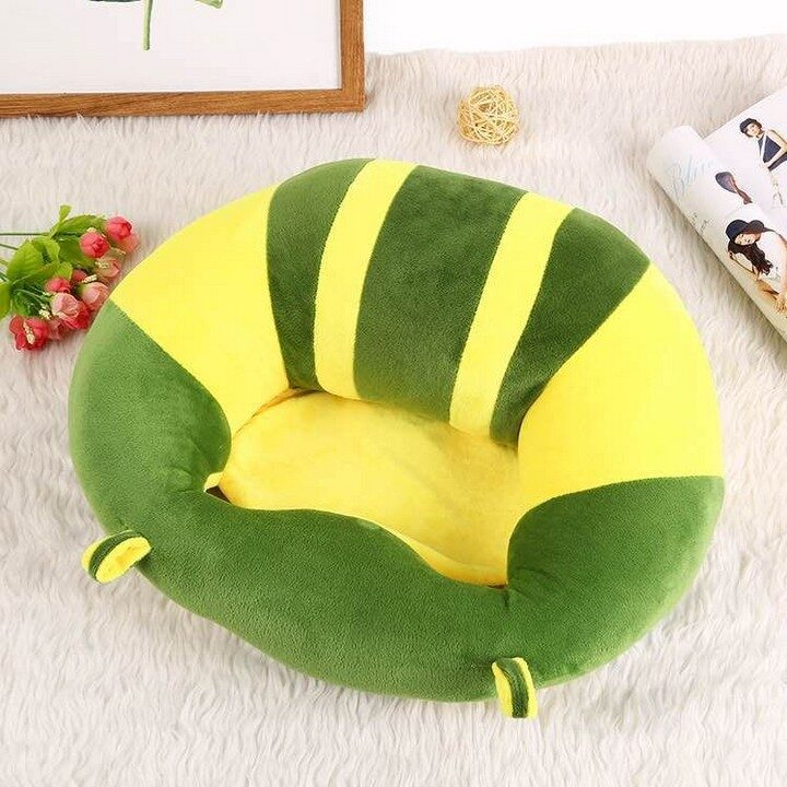Baby Support Sitting Cushion Chair - Green