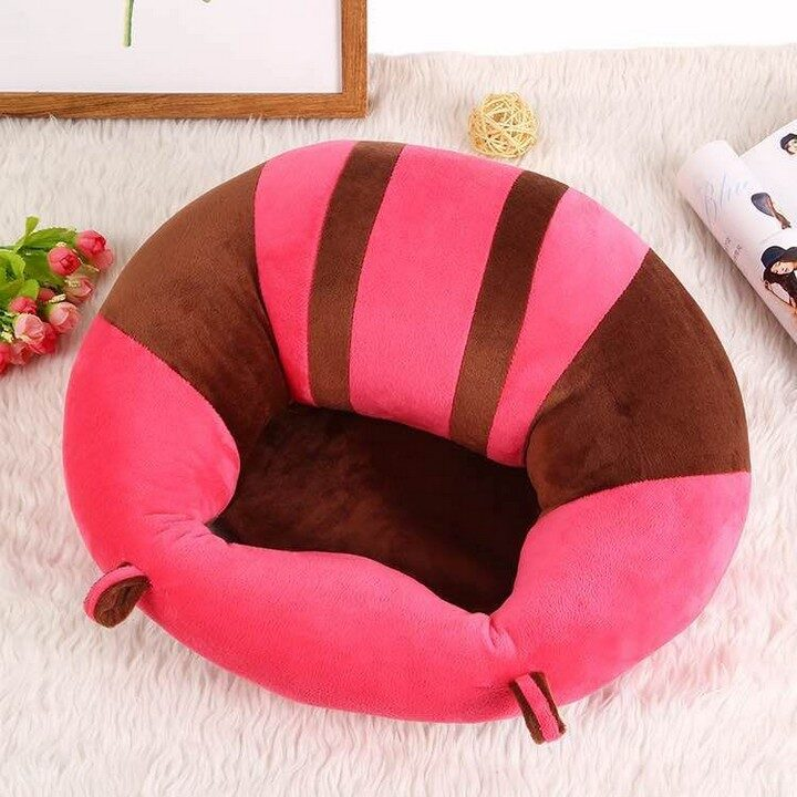 Baby Support Sitting Cushion Chair - Pink