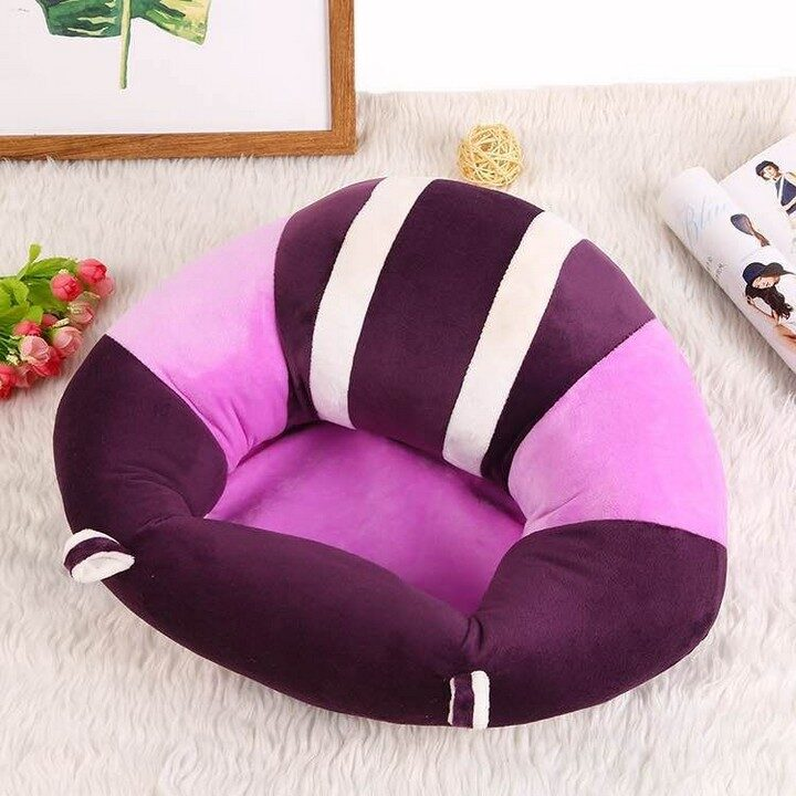 Baby Support Sitting Cushion Chair - Purple