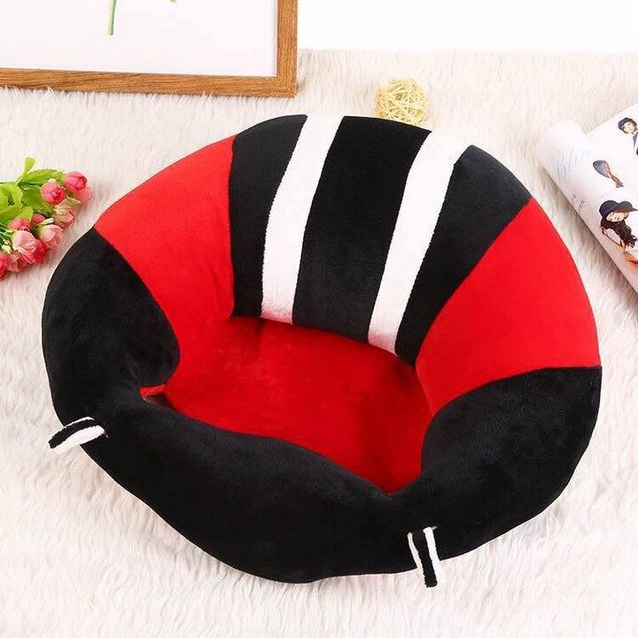 Baby Support Sitting Cushion Chair - Red