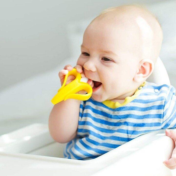 Banana Toothbrush Teether