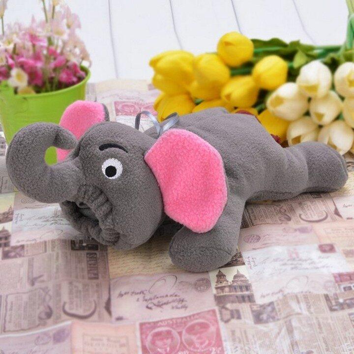 Cute Feeding Bottle Cover - Elephant