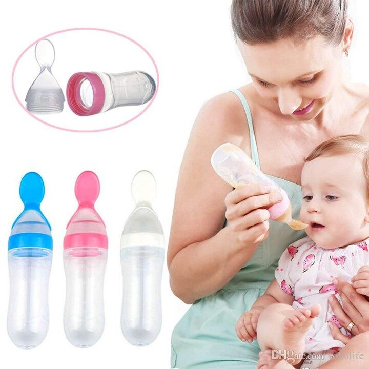 Easy Squeezy Spoon Food Feeder