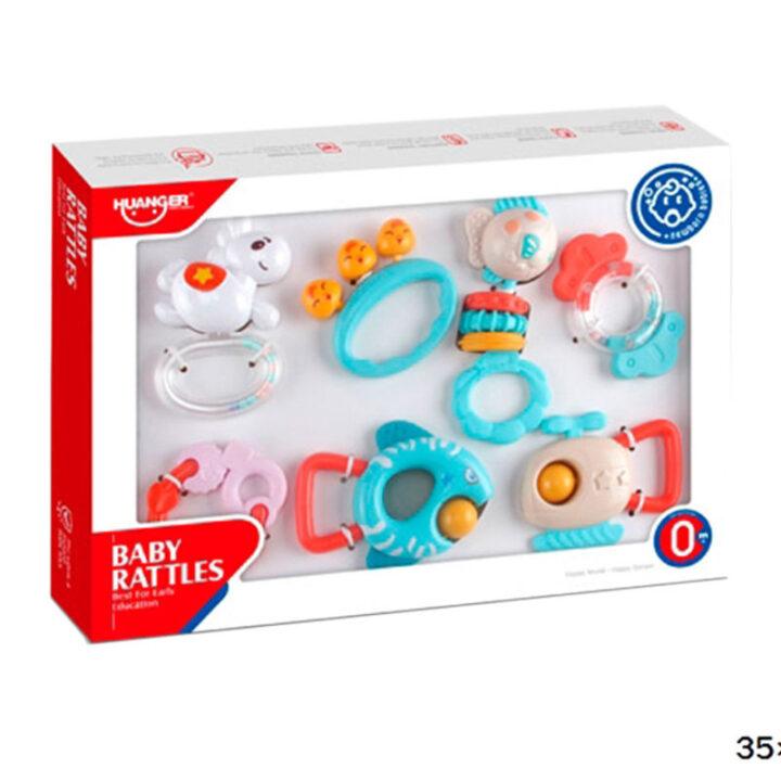 Huanger - Baby Rattles Box (7 pcs)