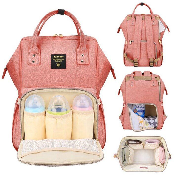 Portable Diaper Bag - Pink