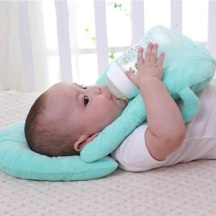 Baby Feeding Pillow - Green
