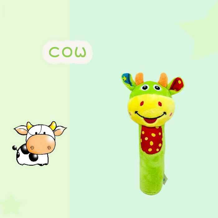 Babyfans Cow Rattles
