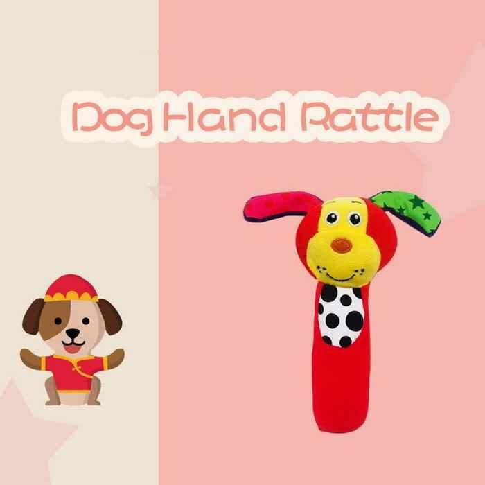 Babyfans Dog Rattles