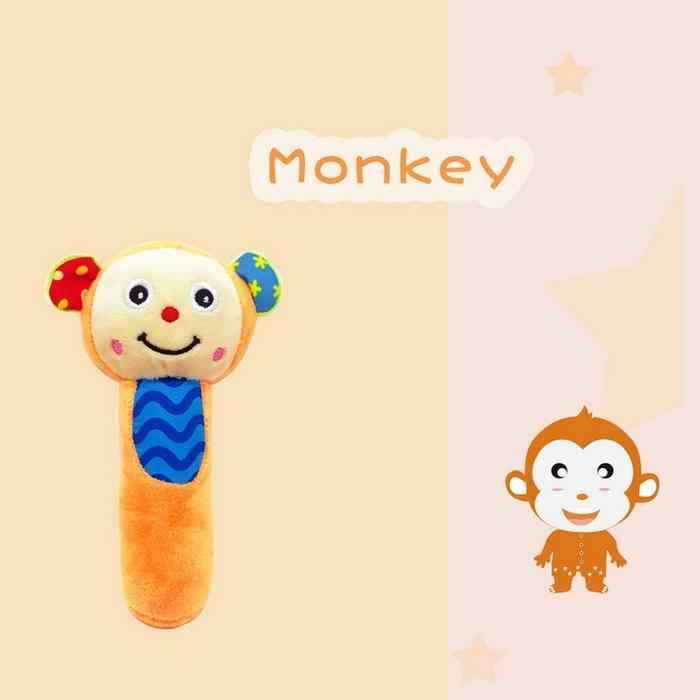 Babyfans Monkey Rattles