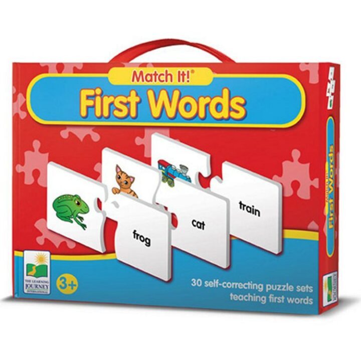 Match It! First Words Puzzle
